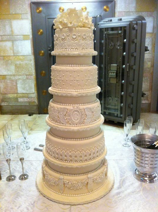 Sweet Southern Ladies 5 tier ivory