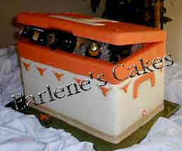 Cooler Chest Cake
