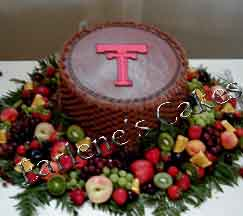 grooms cakes with a texas tech theme