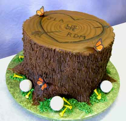 Cakes With Golf Themes