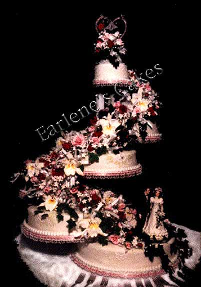Earlene S Cakes Custom Wedding Cakes