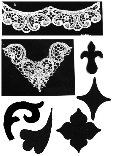Lace and cutter patterns
